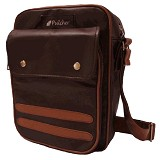 PULCHER Orion [J-01] - Dark Brown - Sling-Bag Pria